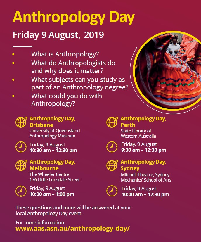 Anthropology Day 2019